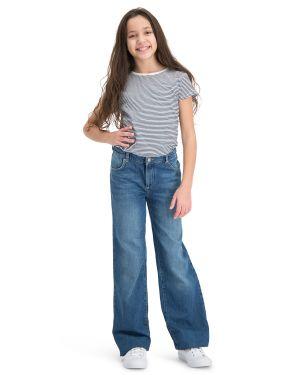 . Amazone Blue Jeans Straight Leg jeans