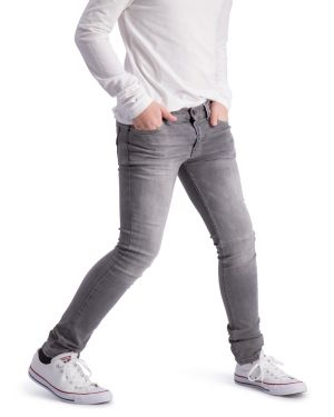 Finch Gray - Hyper Stretch Denim