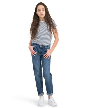 . Puffin Dark Blue Boyfriend Jeans